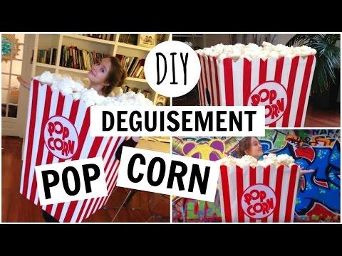 DIY : Déguisement PopCorn / PopCorn Costume