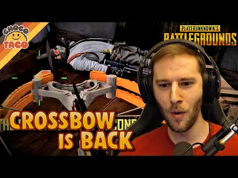 Crossbow is Back ft. Halifax - chocoTaco PUBG Duos Gameplay