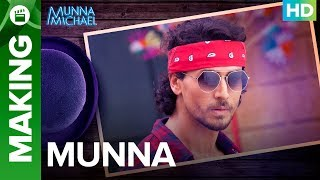 "You can download the Munna Michael game here: https://play.google.com/store/apps/details?id=com.erosnow.MunnaMichaelCheck out the exclusive videos of ""Munna Michael"" here: http://bit.ly/MunnaMichaelOfficialVideosWatch Team 'Munna Michael' give us a sneak peek into their lead character 'Munna' in India's first ever dance action film 'Munna Michael'Movie: Munna MichaelCast: Tiger Shroff, Nawazuddin Siddiqui & Nidhhi AgerwalDirected By: Sabbir KhanProduced By: Eros International & Viki Rajani""Munna Michael"" releases in theatres on 21st July, 2017.To watch more log on to http://www.erosnow.comFor all the updates on our movies and more:https://www.youtube.com/ErosNowhttps://twitter.com/#!/ErosNowhttps://www.facebook.com/ErosNowhttps://www.facebook.com/erosmusicindiahttps://plus.google.com/+erosentertainmenthttp://www.dailymotion.com/ErosNowhttps://vine.co/ErosNow http://blog.erosnow.com"