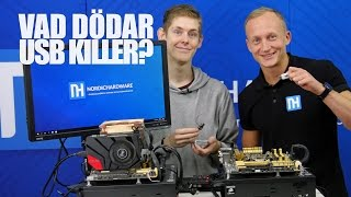 USB Killer vs PC – Vilka komponenter dödar USB Killer?