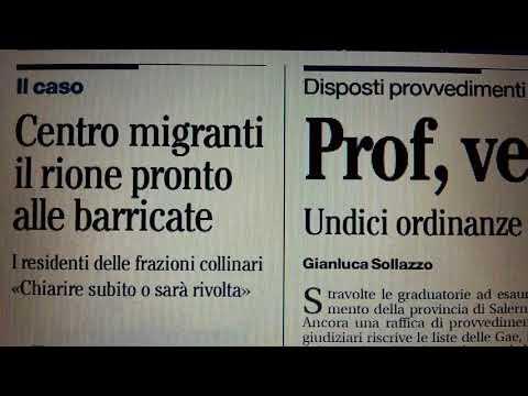 #Salerno prime pagine giornali dell'11 dicembre 2017