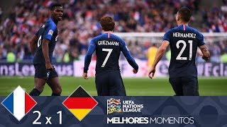 Video FRANÇA 2 X 1 ALEMANHA - MELHORES MOMENTOS - UEFA NATIONS LEAGUE (16/10/2018) MP3, 3GP, MP4, WEBM, AVI, FLV April 2019
