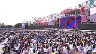 140701 Super Junior M - Break Down & Go & Blind @ Hong Kong Dome Festival 2014 [1080P]