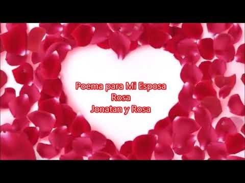 Poemas cortos - Poema para Mi Esposa Rosa - 1