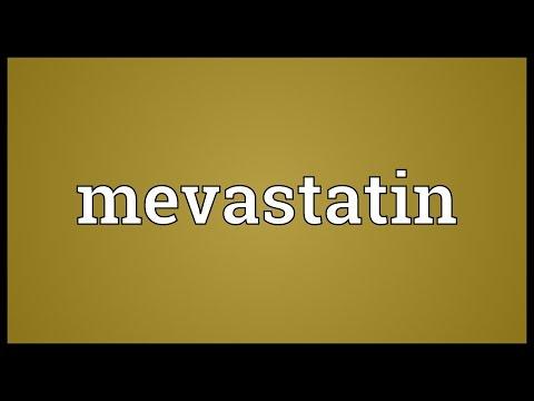 Mevastatin Meaning
