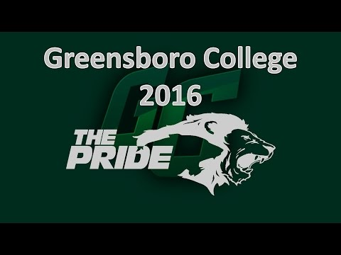 Game - Greensboro College vs North Carolina Wesleyan College - 2016