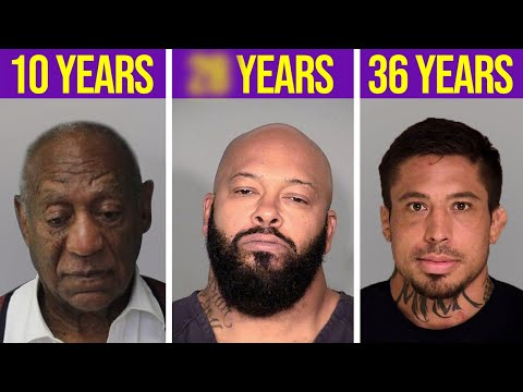 12 Celebs With The LONGEST Prison Sentences