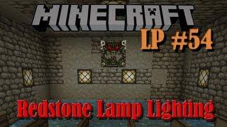 Redstone Lamp Lighting - LP #54