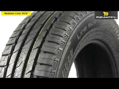 Youtube Nokian Line SUV 265/60 R18 110 V Letní