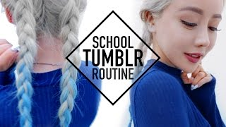 Tumblr Baddie School Routine Makeup Hair and Outfit ♥ Wengie by The Wonderful World of Wengie