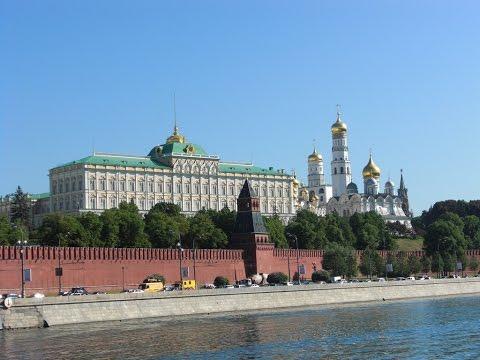 . Москва. Экскурсия по городу на автобусе