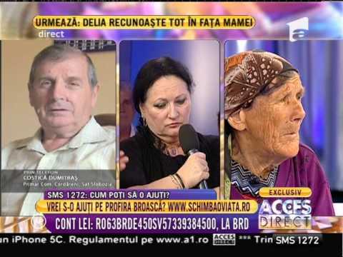 Bunica ţinută legată de fiul ei, ajutată de Gigi Becali (видео)