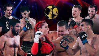 Najbardziej szalona walka w historii rosyjskiego MMA: 240 kg bloger vs 60 kg dziewczyna