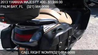 6. 2013 YAMAHA MAJESTY 400 SCOOTER for sale in PALM BAY, FL 329