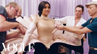 Behind Cardi B's Showstopping Grammys Looks | Vogue