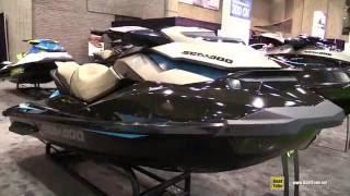 8. 2016 Sea Doo GTI Limited 155 Jet Ski - Walkaround - 2016 Montreal Boat Show