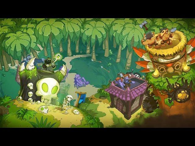 Видео к игре Kingdom Rush Frontiers