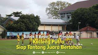 Bertemu Persija Jakarta di 8 Besar Piala Presiden, Ini Kata Pelatih Kalteng Putra