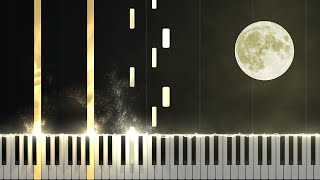 Moonlight Sonata 1st Movement - Opus 27 No. 2 [Piano Tutorial] Ноты и М�Д� (MIDI) можем выслать Вам