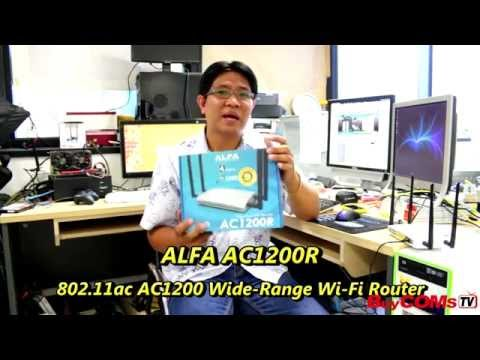 ALFA AC1200R Reviews dual band  2.4GHz+5GHz