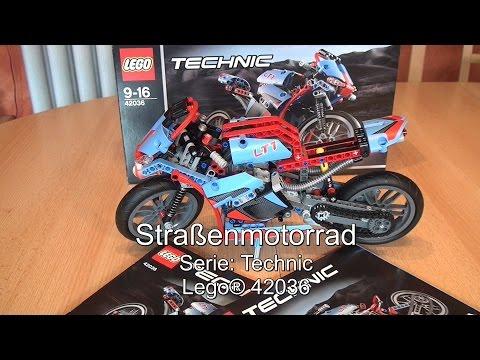 Test Lego Straßenmotorrad (Technic Set 42036)