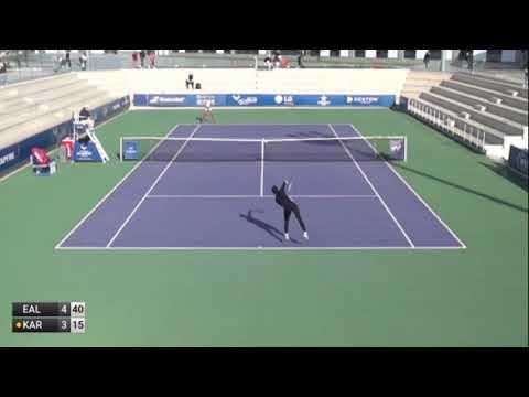 Alex Eala (PHI) v Adithya Karunaratne (HKG) I ITF W15 Manacor 2021 Semifinals