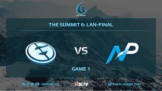 Evil Geniuses vs Team NP, Game 1, The Summit 6, LAN-Final
