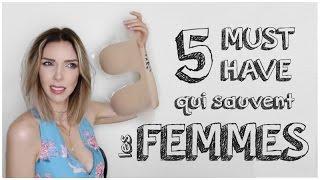 Video ❥ 5 MUST HAVE QUI SAUVENT LES FEMMES MP3, 3GP, MP4, WEBM, AVI, FLV September 2017