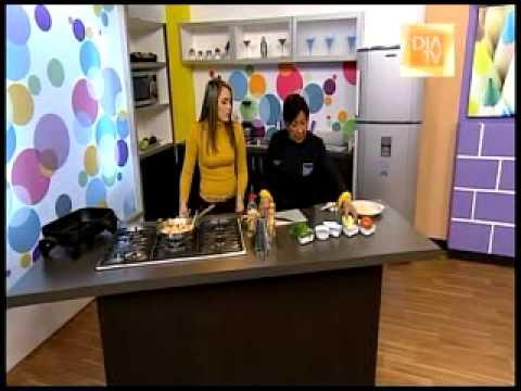 Video - Receta Arepa Rellena con camarones