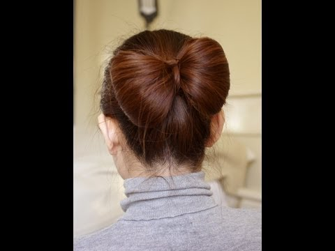 Video Of The Week: Bun And Hair Bow Tutorial