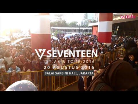 SEVENTEEN 1st Asia Tour Shining Diamonds 2016 - Jakarta