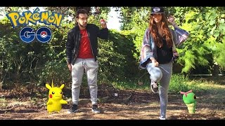 Video POKEMON GO IN REAL LIFE !! - Court metrage David Lafarge Pokemon MP3, 3GP, MP4, WEBM, AVI, FLV Mei 2017