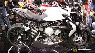 10. 2016 MV Agusta Brutale 675 - Walkaround - 2015 Salon de la Moto Paris