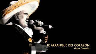 video y letra de Te arranque del corazon (Audio) por Vicente Fernandez