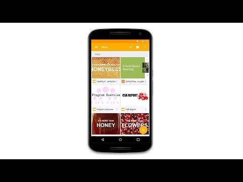 Video of Google Slides