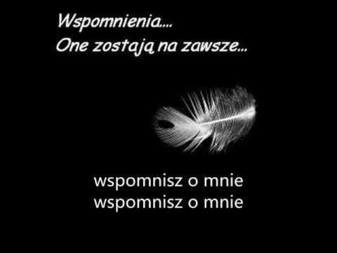 Tekst piosenki Volver - Wspomnij o mnie po polsku