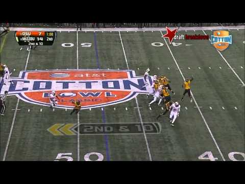 Calvin Barnett vs Mizzou 2014 (Cotton Bowl) video.