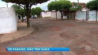 Lins: moradores reclamam do asfalto
