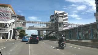 Jalan sudirman Jakarta... bussway....