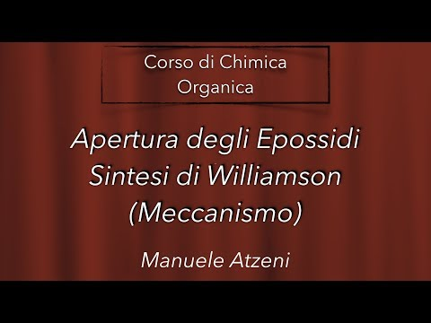 Chimica organica (Sintesi di Williamson) L97