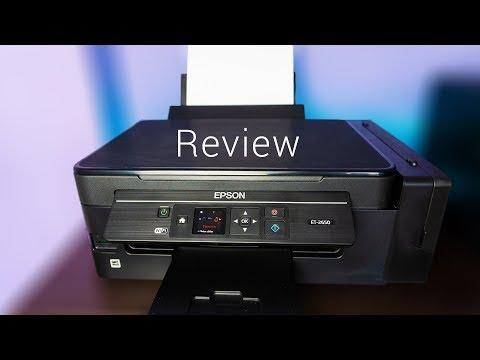 Review Epson ET-2650 - Der Drucker ohne Patronen