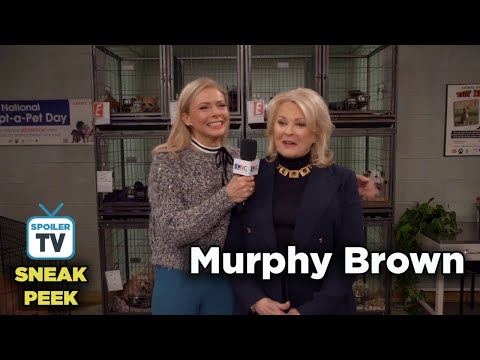 """Murphy Brown 11x11 Sneak Peek 3 """"The Wheels on the Dog Go Round and Round"""""""