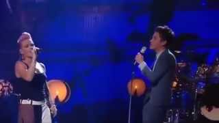 P!nk Ft Nate Ruess - Just Give Me A Reason, Live Performance