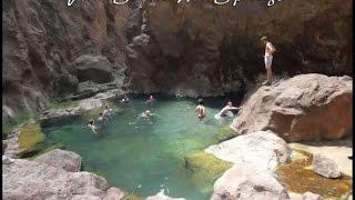 Hiking Goldstrike Canyon Hot Springs Las Vegas Nevada - YouTube