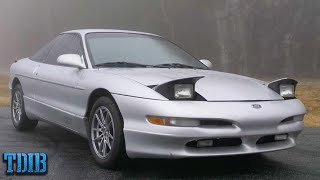 Ford Probe GT Review! The Worst Mustang Ever Made by That Dude in Blue
