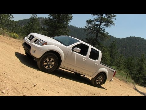 2012 Nissan Frontier 4X4 PRO4X Speedy off-road Tech Demo