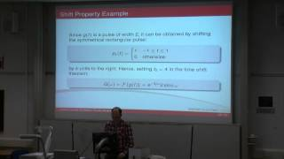 Dynamics, Noise&Vibration - Ch. 8 - Fourier Transforms Properties