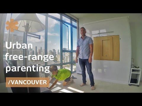 Vancouver dad on raising 5 free-range kids in city apartment