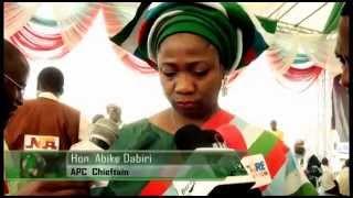 APC Campaign Train In Osun State