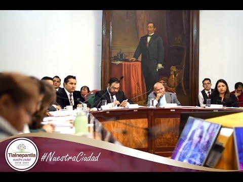 Cabildo H. Ayuntamiento de Tlalnepantla de Baz 02 de octubre del 2019